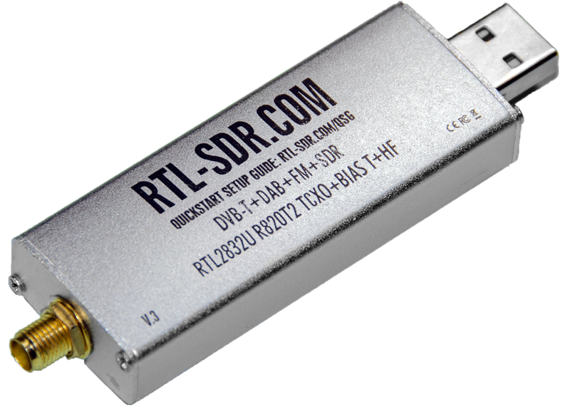 RTL-SDR R820T2 TCXO Dongle