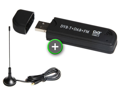 BUNDLE: ADS-B USB Dongle (R820T2) + Small Indoor Antenna