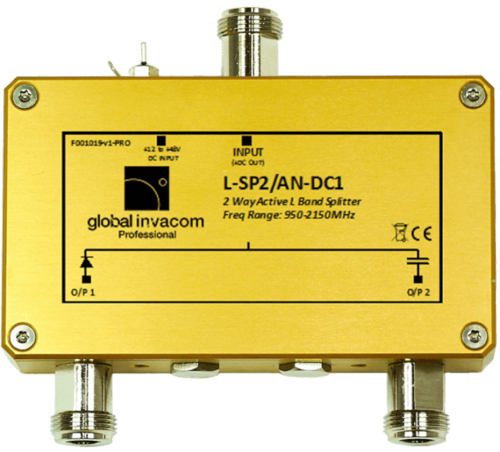 L-SP2/A* DC# ADS-B FLARM 2 Port Aktiver Splitter