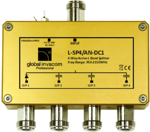 L-SP4/A* DC# ADS-B FLARM 4 Port Active Splitter